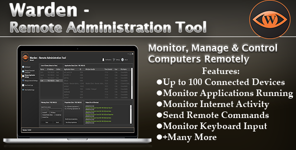 Warden - Remote Administration Tool            Nulled