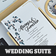 Subtle Wedding Invitation Suite - GraphicRiver Item for Sale