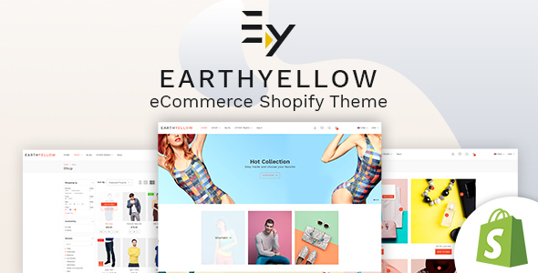 Earthyellow - Shopify Section Theme - Shopify eCommerce