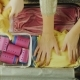 Mom and Daughter Are Going on Vacation. Two Pairs of Hands Put Things and Toys in a Travel Bag - VideoHive Item for Sale
