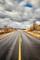 Scenic road in the Grand Teton National Park, USA. - PhotoDune Item for Sale