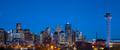 Denver skyline at dusk, Colorado, USA - PhotoDune Item for Sale