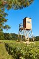 Wooden deer hunting pulpit. - PhotoDune Item for Sale
