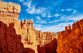 Scenic cliffs in the Bryce Canyon National Park, USA. - PhotoDune Item for Sale