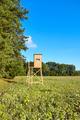 Wooden deer hunting blind. - PhotoDune Item for Sale