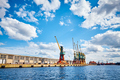 Harbor infrastructure seen from water. - PhotoDune Item for Sale