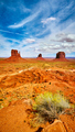 Iconic buttes in the Monument Valley, USA. - PhotoDune Item for Sale