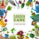 Garden Maintenance Tools Frame
