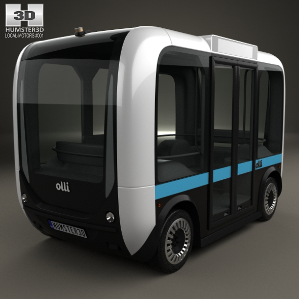 Local Motors Olli Bus 2016