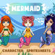 Mermaid Sprites - GraphicRiver Item for Sale