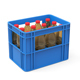 Plastic crate with bottles - 3DOcean Item for Sale