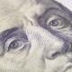 Portrait of President Benjamin Franklin on a Hundred Dollar Bill Rotate - VideoHive Item for Sale