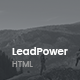 LeadPower - Lead Generation HTML5 Landing Page Template - ThemeForest Item for Sale