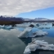 Aerial View of Jokulsarlon Glacial Lagoon in Iceland - VideoHive Item for Sale