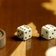 Sixes on Dices on the Backgammon Surface - VideoHive Item for Sale