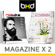 Magazine Template Bundle - InDesign Layout V8 - GraphicRiver Item for Sale