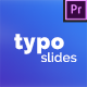 Typography Slides - for Premiere Pro | Essential Graphics - VideoHive Item for Sale