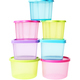 Stack of Colorful Plastic Containers - PhotoDune Item for Sale