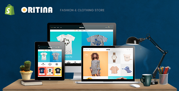 Oritina - Fashion, T Shirt & Accessories Shopify Theme Free Download | Nulled
