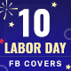 Labor Day Facebook Covers - 10 Designs - GraphicRiver Item for Sale