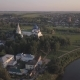 Flight Over the Architectural Ensemble of Suzdal Kremlin - VideoHive Item for Sale