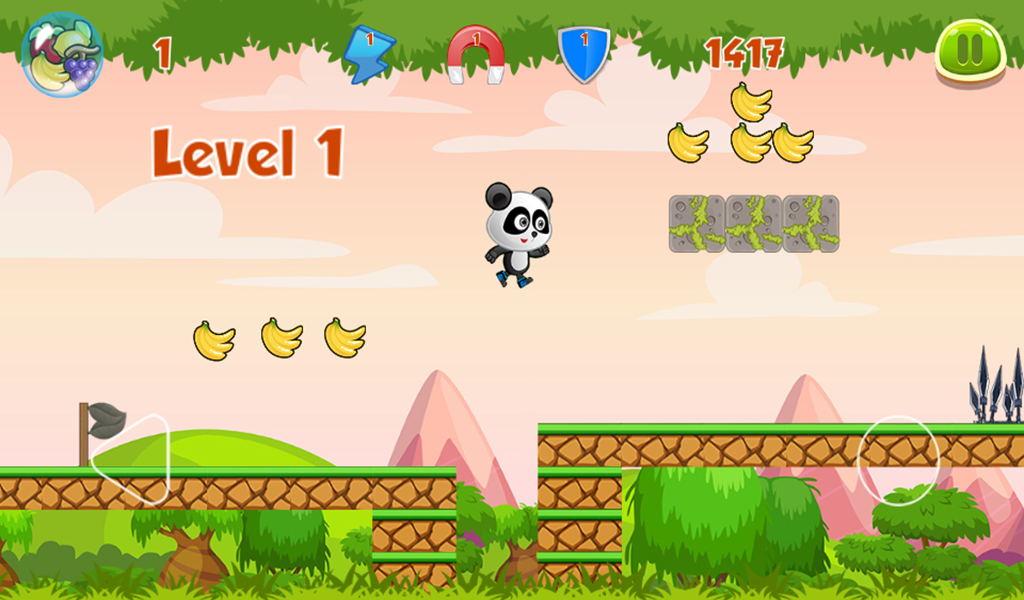 Panda Run - Android Studio Game + Admob