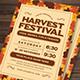 Harvest Festival Flyer - GraphicRiver Item for Sale