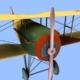 Spad VII game model - 3DOcean Item for Sale