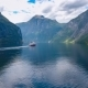 Cruise Liners On Geiranger Fjord Norway - VideoHive Item for Sale