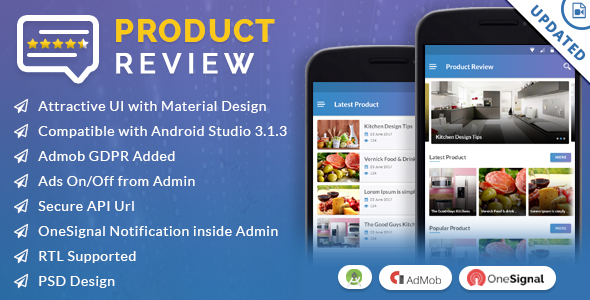 Product Review App - CodeCanyon Item for Sale