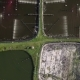 Shrimp or Prawn Farm in Rural Part of Thailand. Aerial View - VideoHive Item for Sale