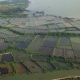 Shrimp or Prawn Farm in Rural Part of Thailand Aerial View - VideoHive Item for Sale