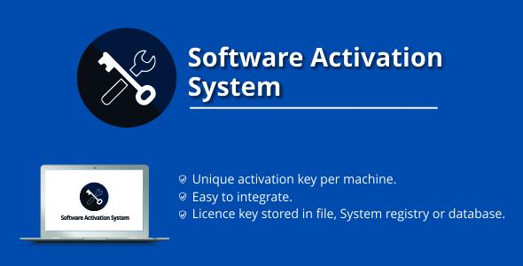 Software Activation System            Nulled