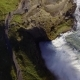Aerial Top View of Gullfoss Waterfall Located in the Canyon in Iceland - VideoHive Item for Sale