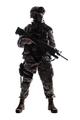 Modern army infantryman low key studio shoot - PhotoDune Item for Sale