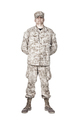 Soldier in parade rest position front view shoot - PhotoDune Item for Sale