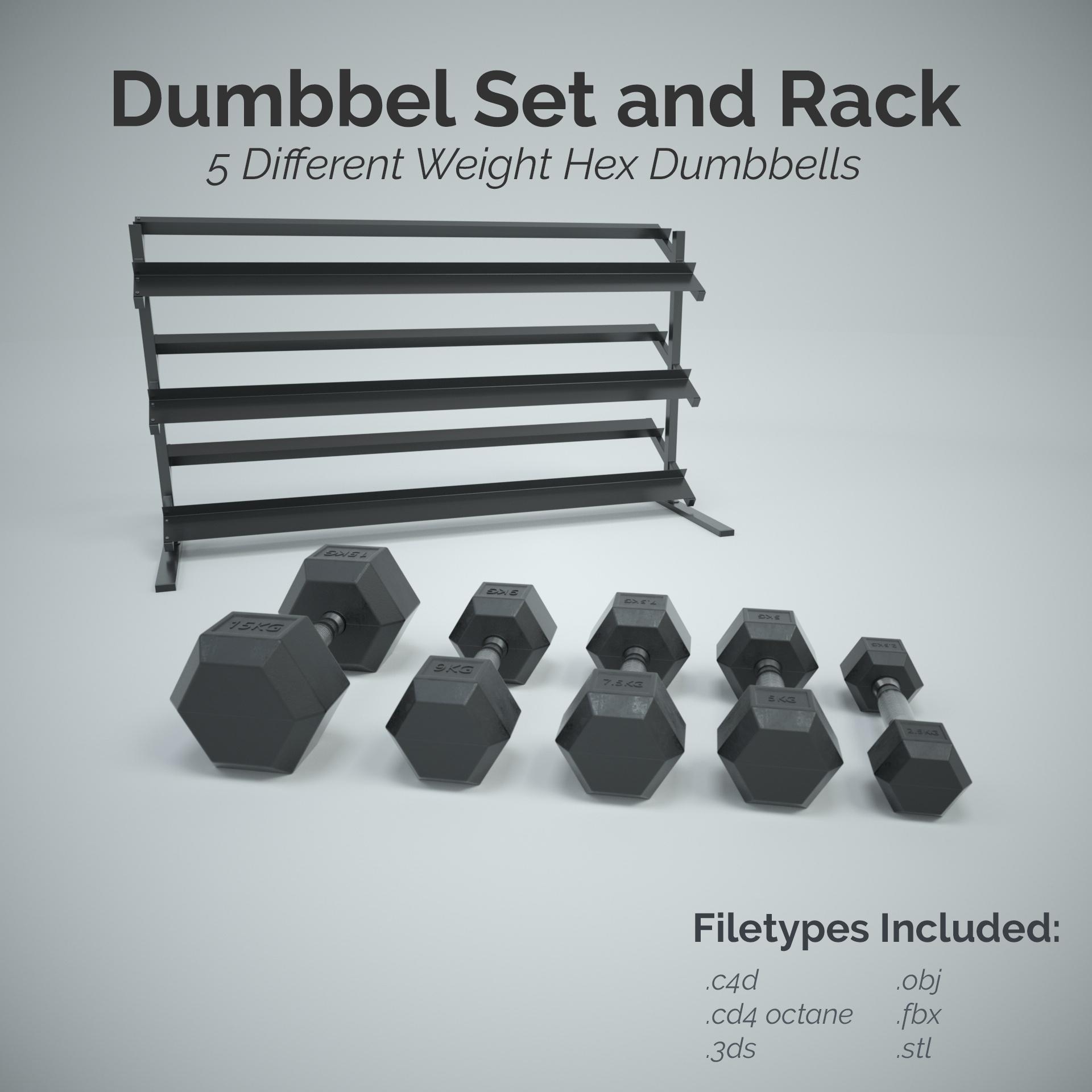Dumbbell Racks Dumbbell Hexagonal Steel Household Small Dumbbell Bracket Storage Gym Commercial Color : Black, Size : 434278cm