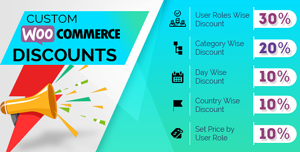 Custom Woocommerce Discounts - CodeCanyon Item for Sale