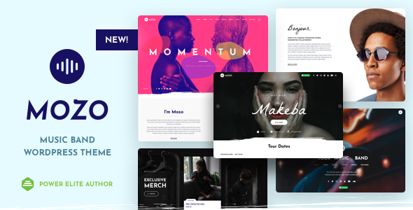 Mozo - Music Band WordPress