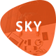 Sky - Business PowerPoint Template - GraphicRiver Item for Sale