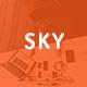 Sky - Business Google Slides Template - GraphicRiver Item for Sale