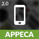 Appeca Mobile | The Ultimate Mobile Template - ThemeForest Item for Sale