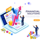 Financial Management Concept Vector - GraphicRiver Item for Sale
