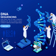 Genetics Laboratory Biotech Banner - GraphicRiver Item for Sale