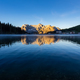 Lake Misurina at sunrise, Dolomite Mountains, Italy - PhotoDune Item for Sale