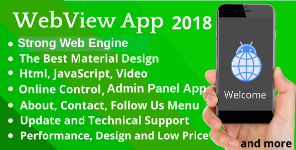 WebView App for Android - 2018            Nulled