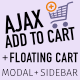 WooCommerce AJAX Add To Cart + Floating Cart | Popup Modal + Sidebar - CodeCanyon Item for Sale