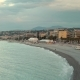 Spring Morning. Sunrise at the Beach of Nice, France - VideoHive Item for Sale