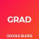 Grad Google Slides Template - GraphicRiver Item for Sale