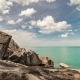 Clouds Over Beautiful Rocky Coast and Sea in Samui, Thailand - VideoHive Item for Sale